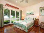 2nd Guest Bedroom with Majestic Ocean and Maui view
