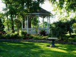 Plan your great escape to the beautiful gazebo
