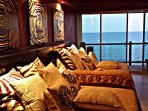 Both Master Suites are ocean-side so enjoy the relaxing sound of waves