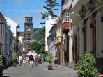 La Laguna. World Heritage Old City. 20 minutes by car.