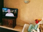 UK freesat TV with DVD player, Nintendo Wii and WiFi