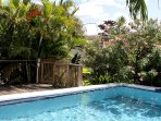 Secluded Nutmeg cottage hidden behind the pool