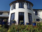 Bayview Tower is the premier accommodation at Lynton Cottage