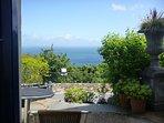 Private Terrace & magnificent sea view