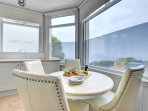 Kitchen Diner with magnificent sea view