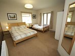 Bedroom 3 - double and single - ensuite