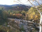 The Ausable River in Autumn.