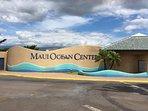 World-class Aquarium is at Maalaea Harbor, walking distance away