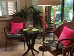 Tropical furnishings
