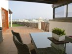 Enjoy views to Fuertaventura from Alfresco area