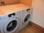 Arcata Stay's Gateway Stay 2 BD/ 2 BA vacation rental laundry