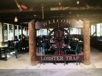The Lobster Trap is up the road