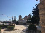 Authentic and idyllic Chloraka village square - only 500 meters from the apartment