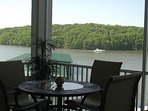 LARGE SCREENED IN PATIO VIEW OF STATE PARK