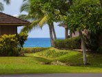 Peek a boo ocean view from dining, kitchen, front lanai and upstairs guest bedroom