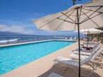 Ocean quiet pool