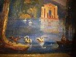 1700s frescos in the bedroom