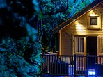 Alum Chine log cabin, 5 mins walk to the beach