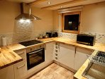 Fully equipped modern spacious kitchen