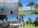 Sombrero Beach - dog friendly, picnic areas, bath and shower facilities