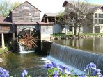 Historic Old Mill Restaurant just 3 miles away.  It's a 'must do' activity.