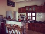 Our kitchen, a perfect place for you to make your own food with love. That's all we wish :)