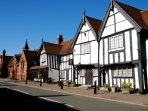 Henley in Arden High Street has a fabulous array of historic properties