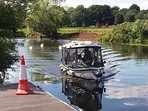 Private River Taxi 10mins into the Centre of Stratford Upon Avon