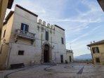 Il Palazzo Baronale.