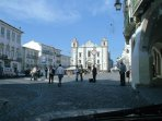 Historic Evora main square