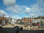 Battle High street with its Bistros, Bars, Tea shops and Independant Retailers.