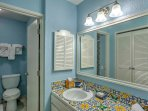 Make mornings easy with 3 separate bathrooms.