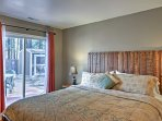 The master bedroom features a king bed, ensuring pure comfort.