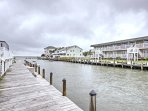 This Ocean City escape is right on the water!