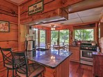 Enjoy a home-cooked meal in the fully equipped kitchen.