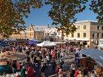 Salamanca Market 14 mins drive