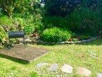 Garden corner and bbq
