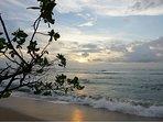 Classic Costa Rica sunset from Langosta Beach