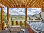 Refresh in your private hot tub after a long day on the mountain!