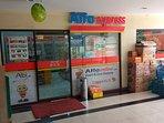 2 mini markets (Indomaret & Alfamart) open 24 hours