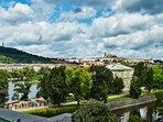 Amazing River and Prague Castle Views!!