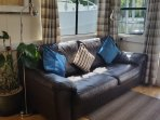 Double sofa bed in saloon/lounge
