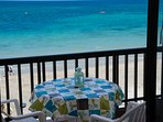Your balcony to the beach.
