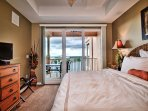 Wake up to the beautiful view from the master bedroom.
