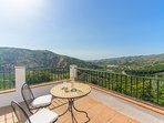Stunning views from the upper terraces.
