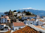Beautiful Comares village, 10 minutes by car.