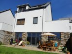 Large, luxurious four bedroom house in Perranporth