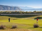18 hole golf course, adjoining the beach at Abersoch