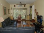 Living Room.  Comfortable seating for 5.
