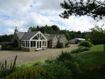 Faith's Cottage, large garden, fantastic views, family and animal friendly.